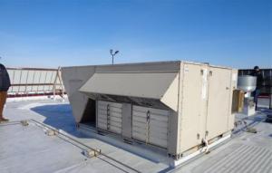 Rooftop heating/cooling units (RTU)