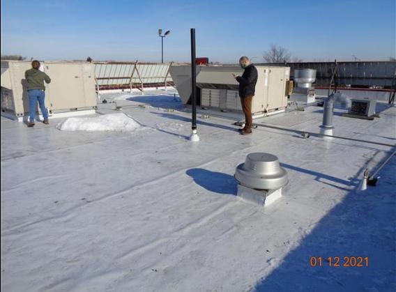 New TPO Roof Membrane