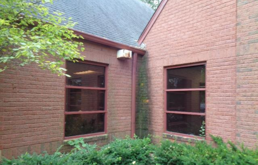 Bricks in Soldier Course above and below windows