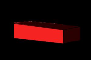 Stretcher brick orientation