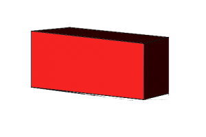 Bricks laid in a stretcher orientation have the long, tall face exposed.